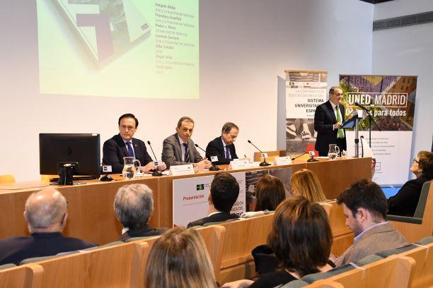 """Presentación del Informe """"La contribución socioeconómica de las universidades españolas"""""""