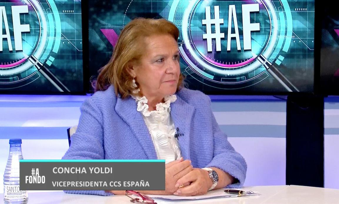 Entrevista a la vicepresidenta de la CCS, Concha Yoldi